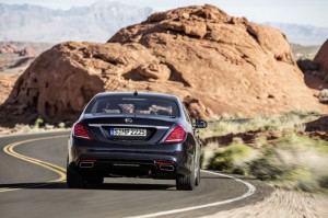 Mercedes-Benz S550 4Matic 2014 essai routier coffre Critique Automobile
